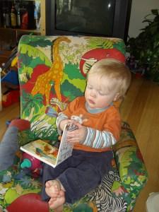 Zac reads