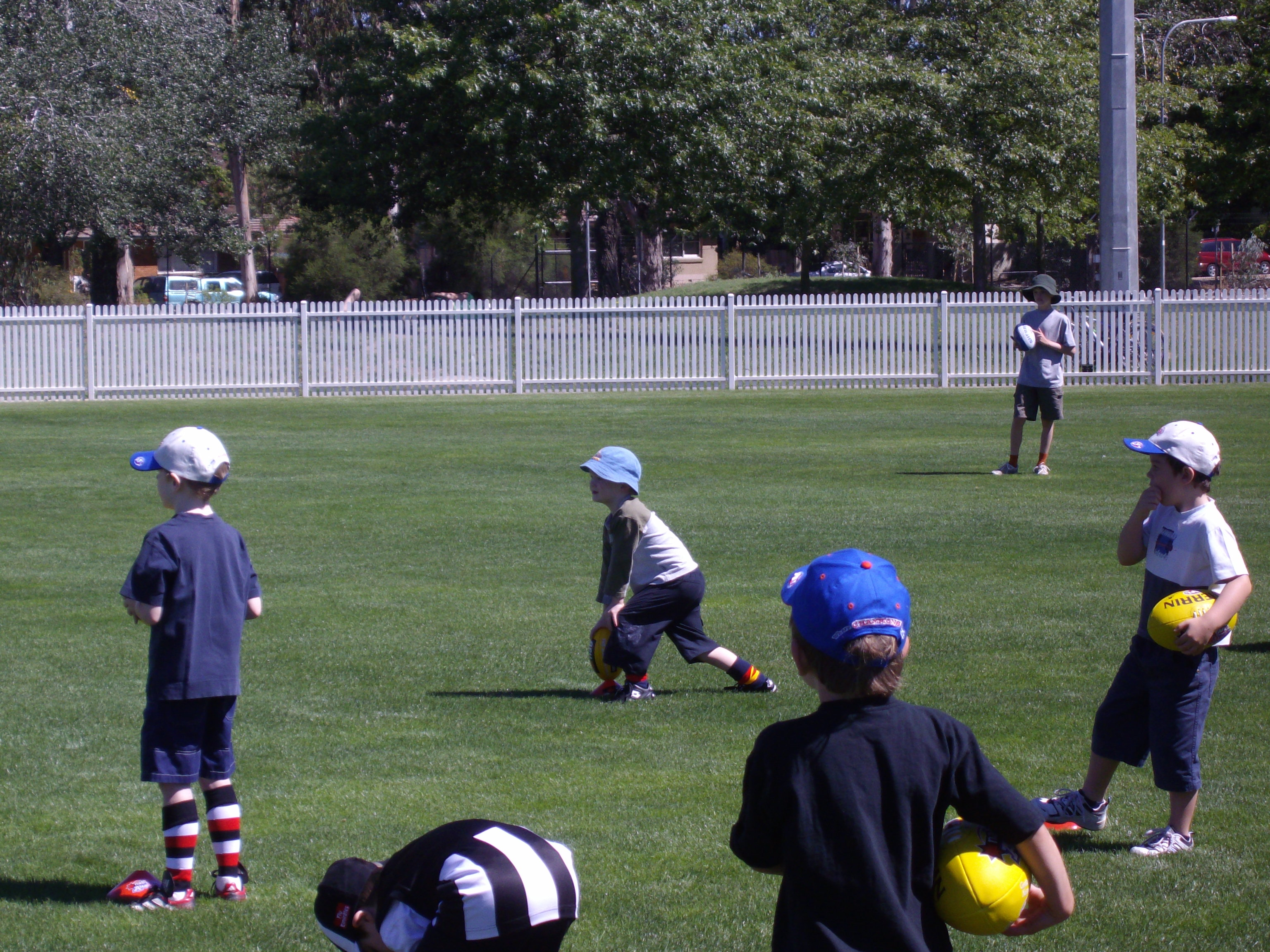 Seb's First Footy Training | The Life and Times of Bossy Boots