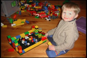 Lego football match