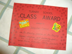 School award 8