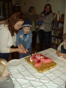 Zac's birthday party 048