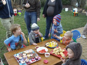 Zac's birthday party 024