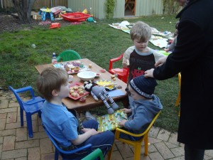 Zac's birthday party 038